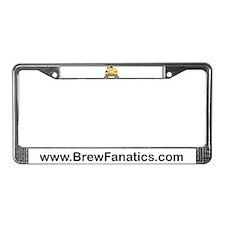 BrewFanatics Logo License Plate Frame