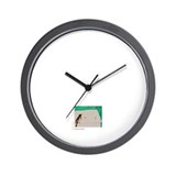 """Bird and Green"" Wall Clock"