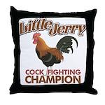 Little Jerry Seinfeld Throw Pillow