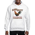 Little Jerry Seinfeld faded Hooded Sweatshirt