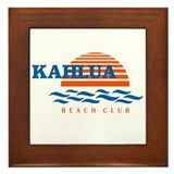 Cute Vacations Framed Tile