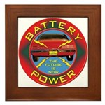 Battery Power Framed Tile