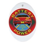 Battery Power Ornament (Oval)