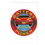 Battery Power Postcards (Package of 8)