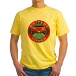 Battery Power Yellow T-Shirt