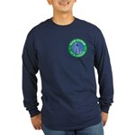 Clean and Green Long Sleeve Dark T-Shirt