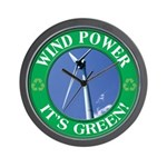 Clean and Green Wall Clock