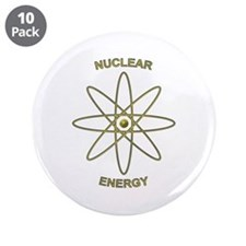 "Nuclear Energy 3.5"" Button (10 pack)"
