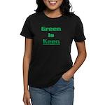 Green is keen Women's Dark T-Shirt