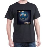 Italia Soccer Ball T-Shirt