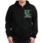 Save energy Zip Hoodie (dark)