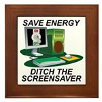 Save energy Framed Tile
