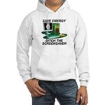 Save energy Hooded Sweatshirt