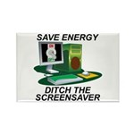 Save energy Rectangle Magnet (100 pack)