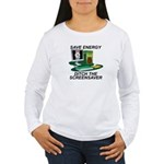 Save energy Women's Long Sleeve T-Shirt