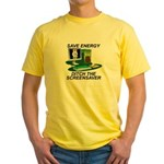 Save energy Yellow T-Shirt