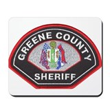 Greene County Sheriff Mousepad
