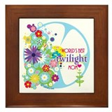 World's Best Twilight Mom Framed Tile