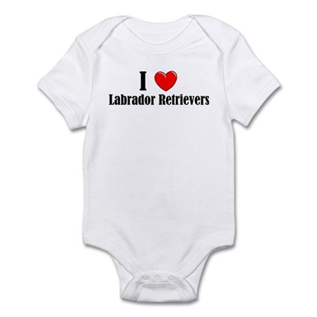 I Love Labs Infant Creeper