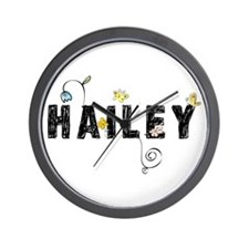 Hailey Floral Wall Clock