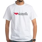 Hicksville White T-Shirt