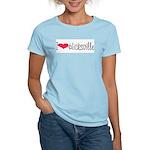 Hicksville Women's Pink T-Shirt