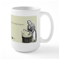 TGIF Motherfuckers Large Mug