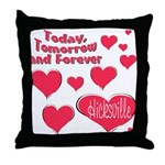 Hicksville Throw Pillow