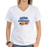 Nursing Assistant Women's V-Neck T-Shirt