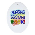 Nursing Assistant Ornament (Oval)
