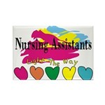 Nursing Assistant Rectangle Magnet (10 pack)