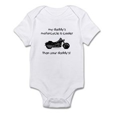 My Daddy's Motorcycle Infant Bodysuit