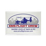Trauma flight nurse Rectangle Magnet (10 pack)