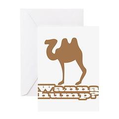 Wanna Hump? Greeting Card