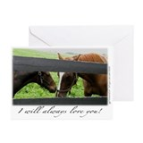 Cute I will always love you Greeting Cards (Pk of 10)