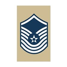 SMSgt Old Stripes 3rd Decal