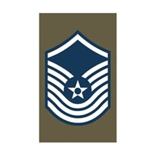 Senior Master Sergeant Sticker Ten Pack 4