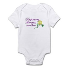 Cute Respiratory therapy Infant Bodysuit