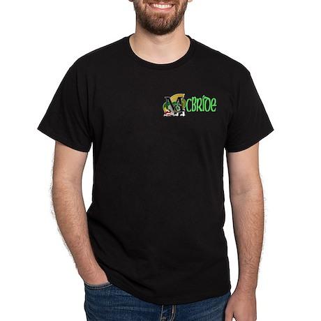 McBride Green Celtic Dragon 2 Dark T-Shirt