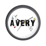 Avery Floral Wall Clock