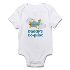 Daddy's Co-pilot Boy's Onesie
