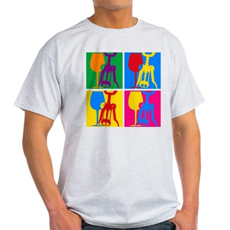 Pop Art Wine Light T-Shirt