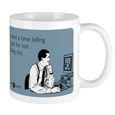 Time Billing Code Small Mug
