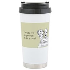Shit Yourself Ceramic Travel Mug