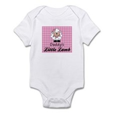 Daddy's Little Lamb Girl's Onesie