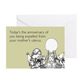 Mother's Uterus Greeting Card