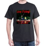 Gone Fishing Dark T-Shirt