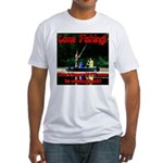 Gone Fishing Fitted T-Shirt