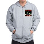 Gone Fishing Zip Hoodie