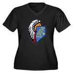 Reno Sparks Indian Police Women's Plus Size V-Neck
